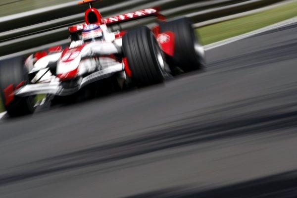 2007 Italian Grand Prix - Friday PracticeAutodromo di Monza, Monza, Italy.7th September 2007.Takuma Sato, Super Aguri SA07-Honda. Action. World Copyright: Lorenzo Bellanca/LAT Photographicref: Digital Image _64I5167