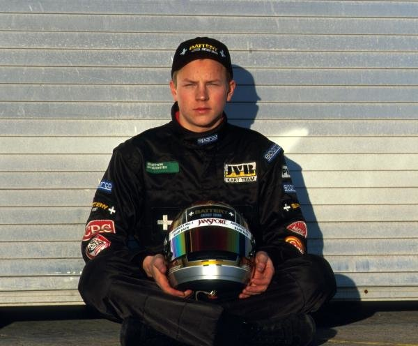 Karting sensation Kimi Raikkonen (FIN) was about to embark on his first season in single seater racing cars.  Test Session, Donington Park, England, 16 December 1998.