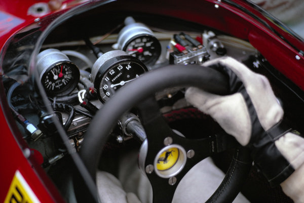 Ferrari 312B2 steering wheel.