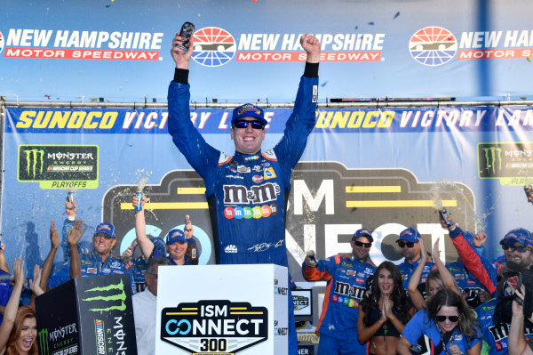 Monster Energy NASCAR Cup Series ISM Connect 300 New Hampshire Motor Speedway Loudon, NH USA Sunday 24 September 2017 Kyle Busch, Joe Gibbs Racing, M&M's Caramel Toyota Camry World Copyright: Rusty Jarrett LAT Images