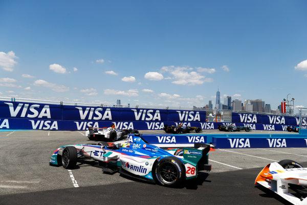 2016/2017 FIA Formula E Championship. Round 10 - New York City ePrix, Brooklyn, New York, USA. Sunday 16 July 2017. Antonio Felix da Costa (PRT), Amlin Andretti, Spark-Andretti, ATEC-02. Photo: Alastair Staley/LAT/Formula E ref: Digital Image _R3I1500