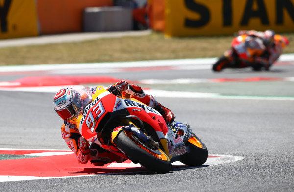 2017 MotoGP Championship - Round 7 Circuit de Catalunya, Barcelona, Spain Sunday 11 June 2017 Marc Marquez, Repsol Honda Team World Copyright: Gold & Goose Photography/LAT Images ref: Digital Image 677064