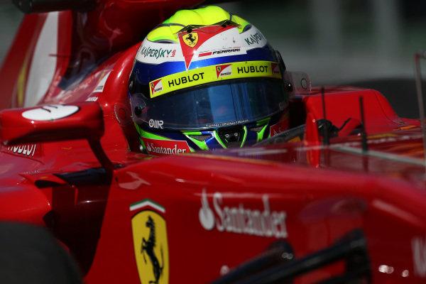 Felipe Massa (BRA) Ferrari F138. Formula One World Championship, Rd1, Australian Grand Prix, Practice, Albert Park, Melbourne, Australia, Friday 15 March 2013.