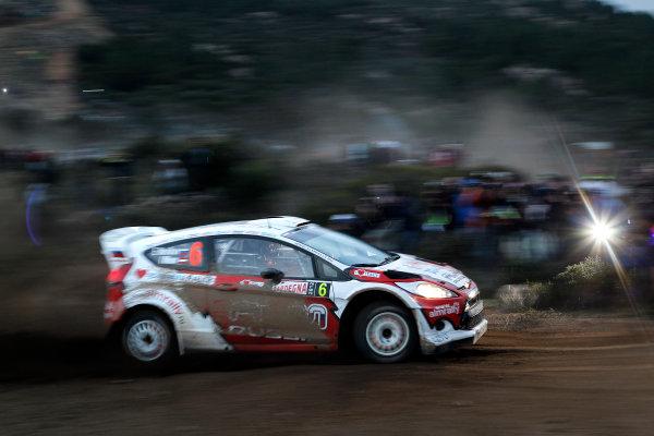 Round 12, Rally d'Italia Sardinia 201218th - 21st October 2012Evgeney Novikov, Ford, actionWorldwide Copyright: McKlein/LAT