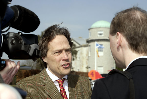 2005 Goodwood Festival of Speed Press DayGoodwood, England. 16th March 2005Lord March is interviewed.World Copyright: Gary Hawkins/LAT Photographicref: Digital Image Only