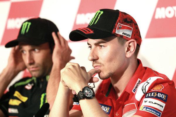 Press Conference, Jorge Lorenzo, Ducati Team.
