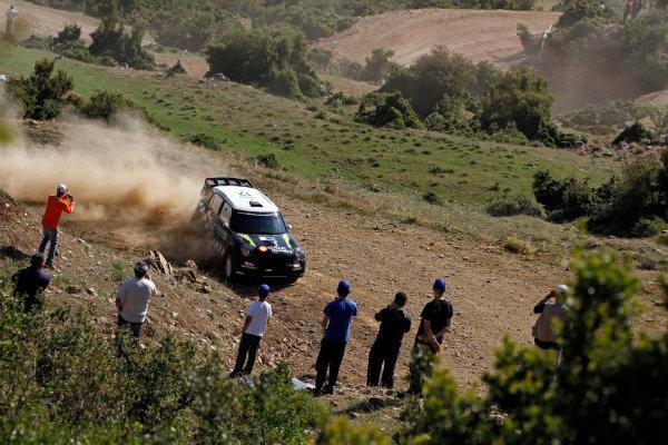 Round 06 - Rally Acropolis, Greece. 24-27 May 2012. Paulo Nobre, Mini WRC, Action.  Worldwide Copyright: McKlein/LAT