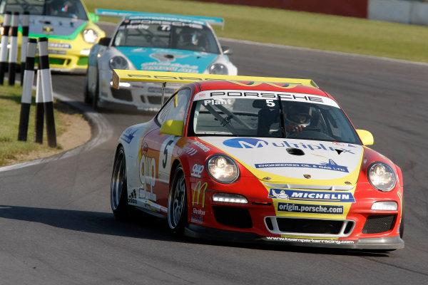 Snetterton, Norfolk. 10th - 12th August 2012.Richard Plant (GBR) Team Parker Racing Porsche Carrera Cup.World Copyright: Ebrey/LAT Photographic.