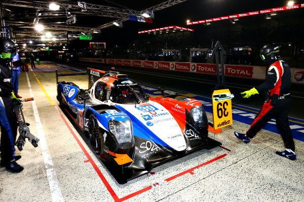 #39 Graff, Oreca 07 - Tristan Gommendy, Vincvent Capillaire, Jonathan Hirschi take pole position in the LMP2 class