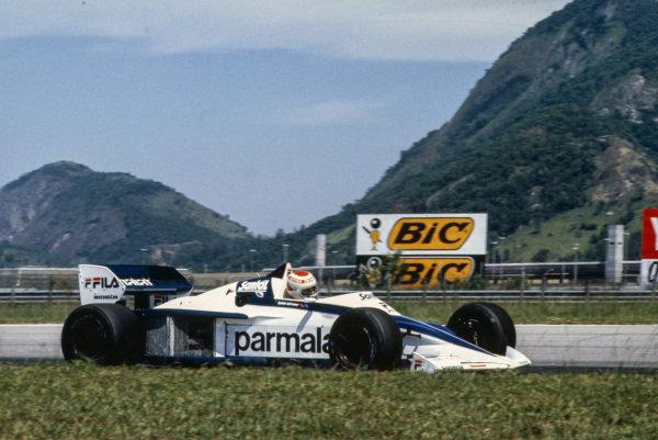 Nelson Piquet, Brabham BT52 BMW.