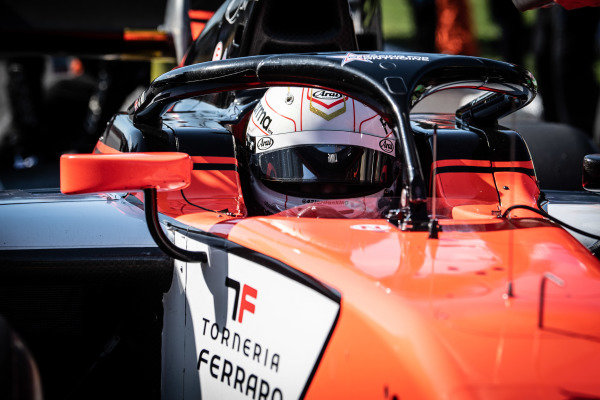 AUTODROMO NAZIONALE MONZA, ITALY - SEPTEMBER 08: Jordan King (GBR, MP MOTORSPORT) during the Monza at Autodromo Nazionale Monza on September 08, 2019 in Autodromo Nazionale Monza, Italy. (Photo by LAT Images / FIA F2 Championship)