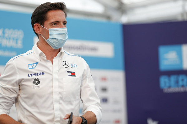 Ian James, Team Principal, Mercedes-Benz EQ  in the press conference