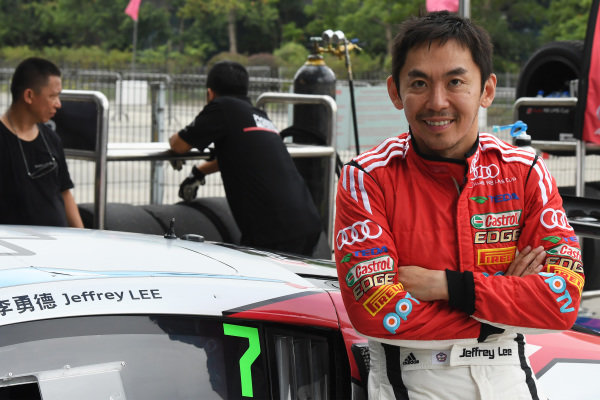 Jeffrey Lee (TWN) Team Audi Volkswagen Taiwan at Audi R8 LMS Cup, Rd7 and Rd8, Shanghai, China, 8-10 September 2017.