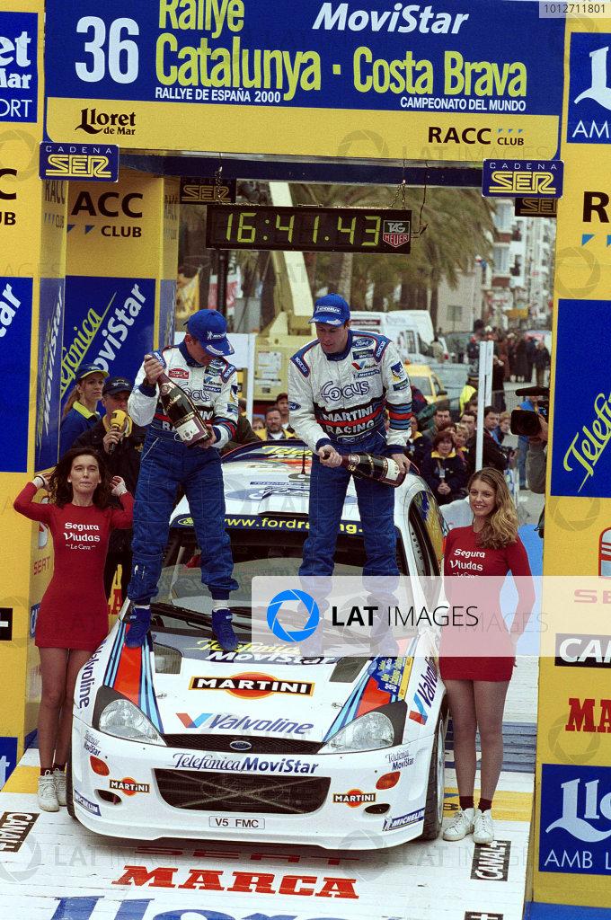 Catalunya 2000 - Colin McRae Ford Focus - Podium