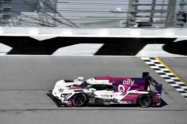 #48 Ally Cadillac Racing Cadillac DPi, GTD: Jimmie Johnson, Kamui Kobayashi, Simon Pagenaud, Mike Rockenfeller