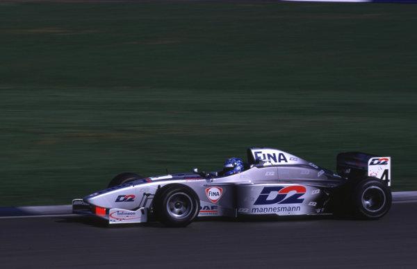 Silverstone, England. 22-23/3/2000. David Saelens, Super Nova Racing. World Copyright: LAT Photographic.