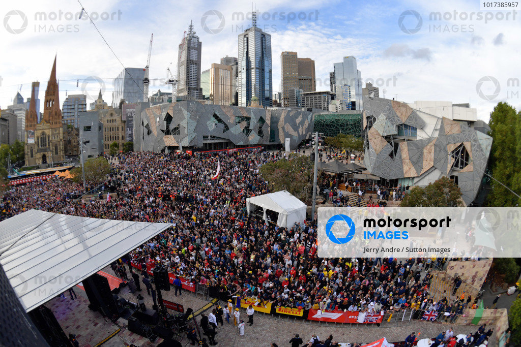 The Federation Square event