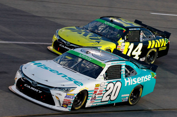 24 April, 2015, Richmond, Virginia USA Denny Hamlin, Hisense Toyota Camry ?2015, Matthew T. Thacker LAT Photo USA