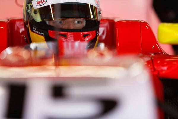 2015 GP3 Series Test 3 - Circuit de Catalunya, Barcelona, Spain. Thursday 23 April 2015. Emil Bernstorff (GBR, Arden International)  Photo: Sam Bloxham/GP3 Series Media Service. ref: Digital Image _SBL1721