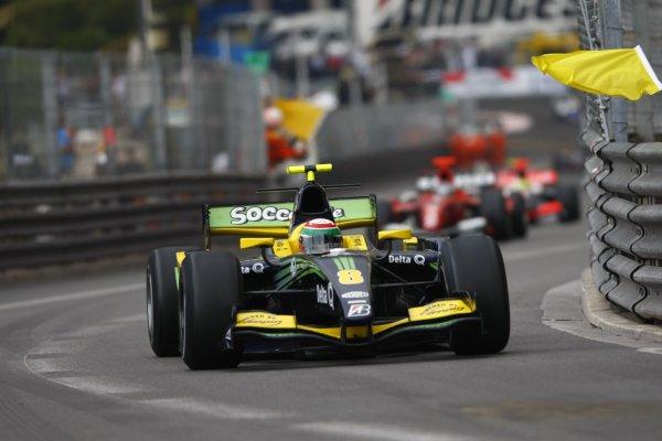2008 GP2 Series. Round 3. Saturday Race. Monte-Carlo, Monaco. 24th May 2008.Alvaro Parente (POR, Super Nova Racing). Action. World Copyright: Charles Coates/GP2 Series Media Service.ref:__26Y9413 jpg