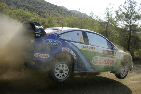 2006 FIA World Rally Champs. Round twelveCyprus Rally.21st - 24th September 2006.Mikko Hirvonen, Ford, action.World Copyright: McKlein/LAT
