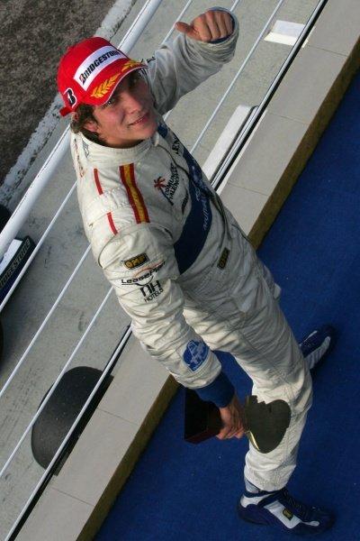 Vitaly Petrov (RUS) Campos Grand Prix 1st. GP2 Series, Rd 11, Race One, Valencia, Spain, Saturday 29 September 2007.