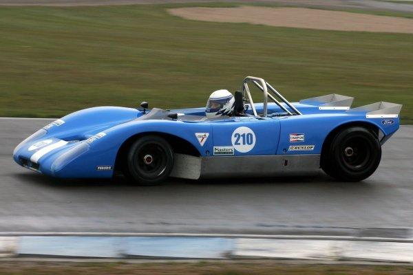 Charlie Kemp (GBR) Lola T210. Historic Car Racing, Donington, England, 20 April 2008