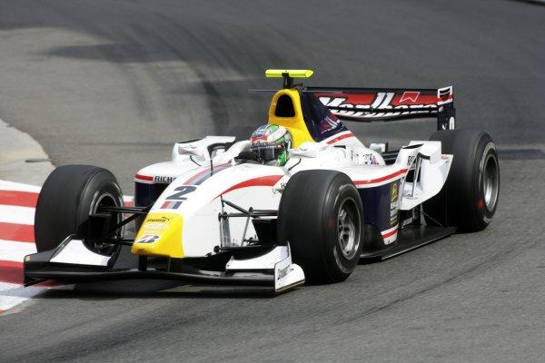 2007 GP2 Series. Round 3. Saturday Race.Monte-Carlo, Monaco. 26th May 2007.Lucas di Grassi (BRA, ART Grand Prix). Action. World Copyright: Andrew Ferraro/GP2 Series Media Service ref: Digital ImageZP9O1074
