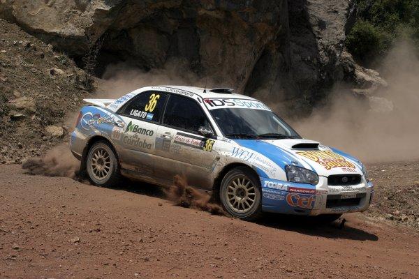 2005 FIA World Rally Champs. Round sevenRally of Turkey2nd-5th June 2005.Marcos Ligato, Subaru PWRC, action.World Copyright: McKlein/LAT