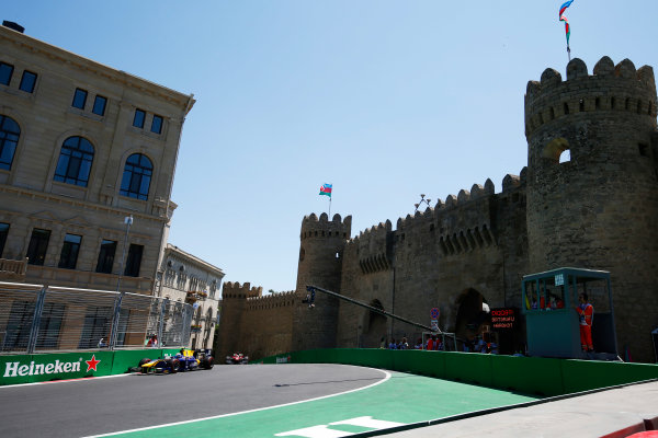 Baku City Circuit, Baku, Azerbaijan. Saturday 24 June 2017. Nicholas Latifi (CAN, DAMS)  World Copyright: Hone/LAT Images ref: Digital Image _ONY9703