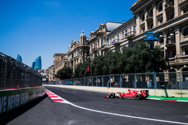 2017 FIA Formula 2 Round 4. Baku City Circuit, Baku, Azerbaijan. Friday 23 June 2017. Antonio Fuoco (ITA, PREMA Racing)  Photo: Zak Mauger/FIA Formula 2. ref: Digital Image _54I9410
