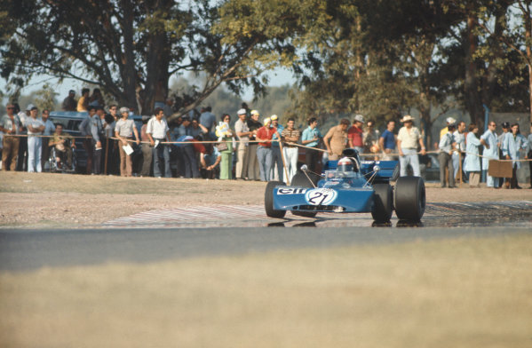 1972 Argentinian Grand Prix.  Buenos Aires, Argentina. 21st-23rd January 1972.  Jackie Stewart, Tyrrell 003 Ford, 1st position.  Ref: 72ARG08. World Copyright: LAT Photographic