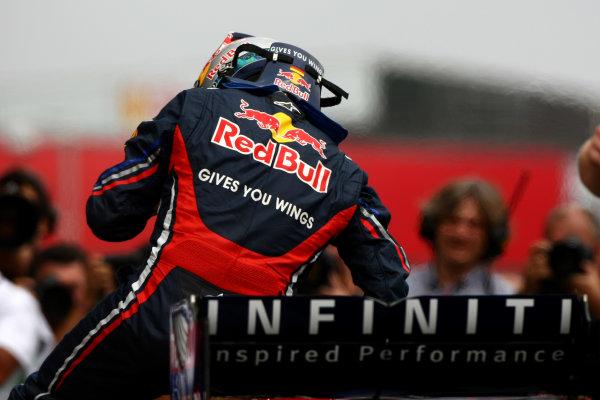 Interlagos, Sao Paulo, Brazil26th November 2011Sebastian Vettel, Red Bull Racing RB7 Renault. Portrait. Helmets. World Copyright: Andy Hone/LAT Photographicref: Digital Image CSP28997