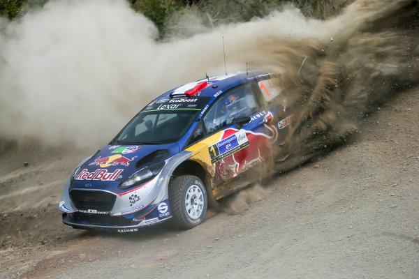 2017 FIA World Rally Championship, Round 03 , Rally Mexico, February 08-12, 2017, Sebastien Ogier, Ford, Action, Worldwide Copyright: McKlein/LAT