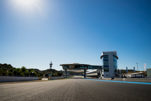 2017 GP3 Series Round 7.  Circuito de Jerez, Jerez, Spain. Thursday 5 October 2017. A view of the track. Photo: Zak Mauger/GP3 Series Media Service. ref: Digital Image _56I3883