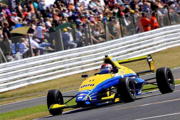 2014 MSA Formula Ford Championship of Great Britain, Snetterton, Norfolk. 1st - 3rd August 2014. Ricky Collard (GBR) Falcon Motorsport Mygale. World Copyright: Ebrey / LAT Photographic.