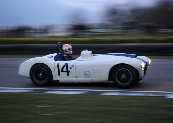 2016 74th Members Meeting Goodwood Estate, West Sussex,England 19th - 20th March 2016 Race 12 Peter Collins Trophy Sam Hancock Cunningham C4R World Copyright : Jeff Bloxham/LAT Photographic Ref : Digital Image