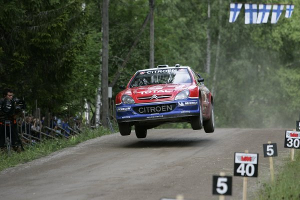 2005 FIA World Rally Championship.Round 10, Neste Rally Finland. 4th - 7th August 2005.xxxPhoto: McKlein/LAT PhotographicDigital Image only.