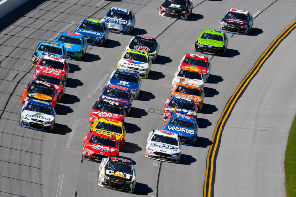 Monster Energy NASCAR Cup Series GEICO 500 Talladega Superspeedway, Talladega, AL USA Sunday 7 May 2017 Ryan Newman, Richard Childress Racing, Caterpillar Chevrolet SS World Copyright: Nigel Kinrade LAT Images ref: Digital Image 17TAL1nk06291