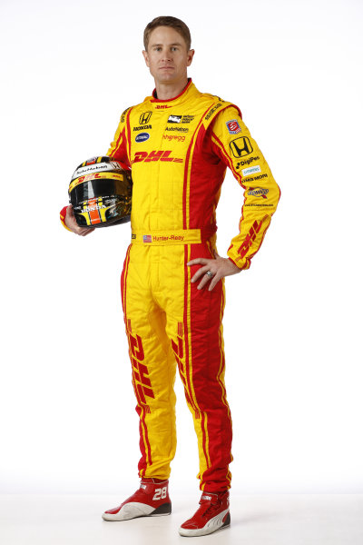 2017 IndyCar Media Day - Driver portrait Phoenix Raceway, Arizona, USA Thursday 9 February 2017 Ryan Hunter-Reay World Copyright: Michael L. Levitt/LAT Images ref: Digital Image _AT_9669