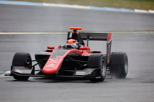 2017 GP3 Series Testing Estoril, Portugal. Wednesday 22 March 2017 George Russell (GBR, ART Grand Prix). Action.  Photo: Alastair Staley/GP3 Series Media Service ref: Digital Image 585A1292