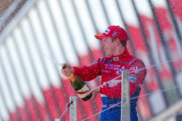 Silverstone, England. 11th July.Sunday Race. Oliver Turvey (GBR, iSport International). Portrait.Photo: Andrew Ferraro/GP2 Media Service.Ref: __Q0C8256 jpg