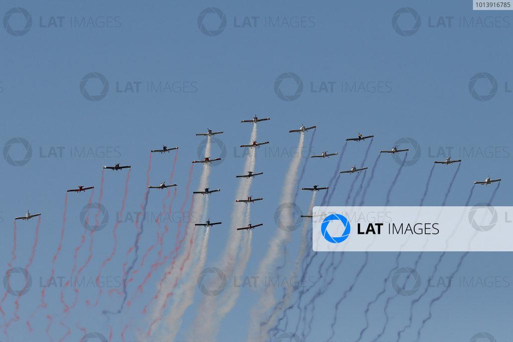 11-A Flyover © 2013, Michael L. Levitt LAT Photo USA.