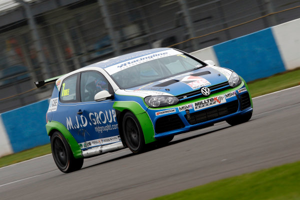 2017 Volkswagen Racing Cup, Donington Park, Leicestershire. 23rd - 24th September 2017. Kenan Dole. World Copyright: JEP/LAT Images