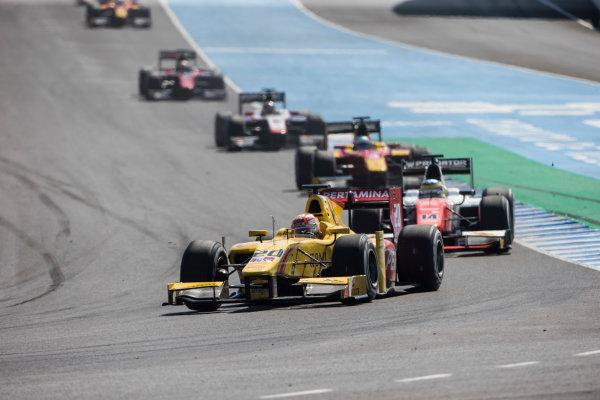 2017 FIA Formula 2 Round 10. Circuito de Jerez, Jerez, Spain. Sunday 8 October 2017. Norman Nato (FRA, Pertamina Arden).  Photo: Andrew Ferraro/FIA Formula 2. ref: Digital Image _FER3306