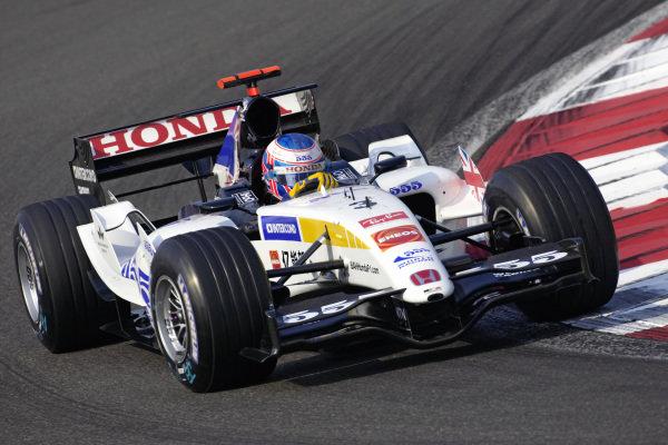 Jenson Button, BAR 007 Honda.