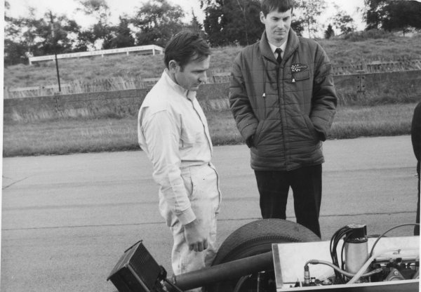 Goodwood testing, Goodwood, Sussex, Great Britain.