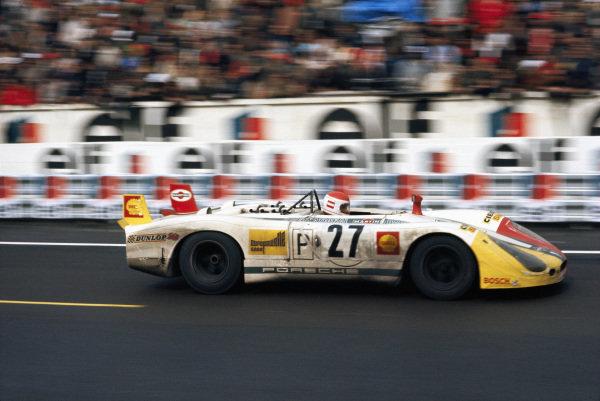 Rudi Lins / Helmut Marko, Martini International Racing Team, Porsche 908/02 LH.
