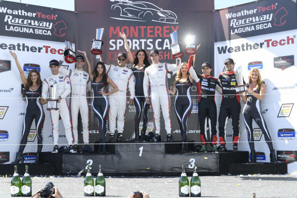 #7 Acura Team Penske Acura DPi, DPi: Helio Castroneves, Ricky Taylor ,#6 Acura Team Penske Acura DPi, DPi: Juan Pablo Montoya, Dane Cameron, #31 Whelen Engineering Racing Cadillac DPi, DPi: Felipe Nasr, Pipo Derani
