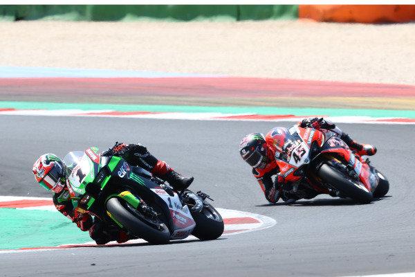 Jonathan Rea, Kawasaki Racing Team WorldSBK, Scott Redding, Aruba.It Racing - Ducati.